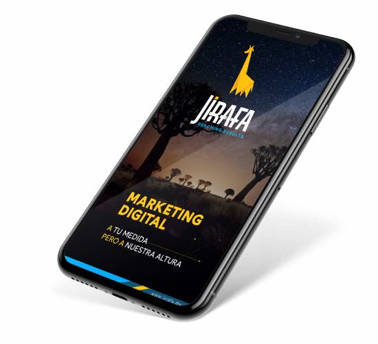 Jirafa Marketing Digital - Mobile First